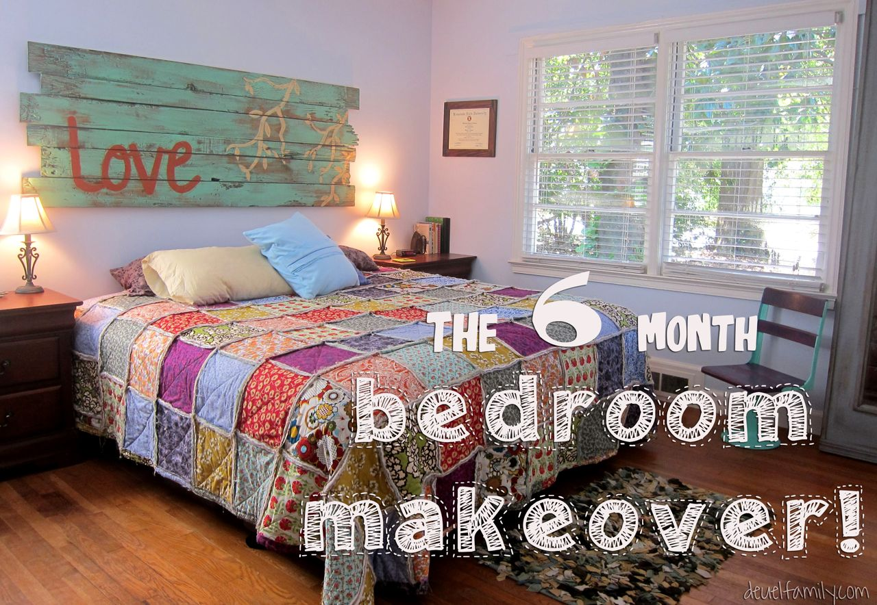 The six month bedroom makeover spoonful of imagination for Room makeover