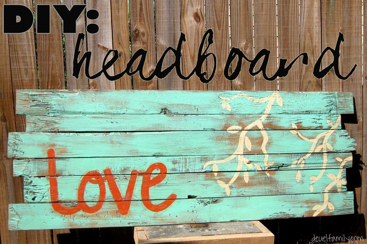 DIY Headboard - Spoonful of Imagination